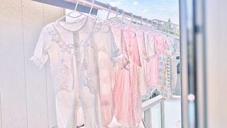 夏,ベランダ,日常,洋服,赤ちゃん,生活,洗濯,ライフスタイル,収納,衣替え,整理整頓,ベビー服,水通し