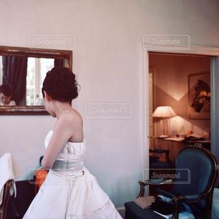 結婚式の準備の写真・画像素材[3461080]