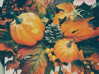 ハロウィンの装飾の写真・画像素材[3777488]