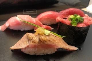 鮪の寿司の写真・画像素材[3846652]