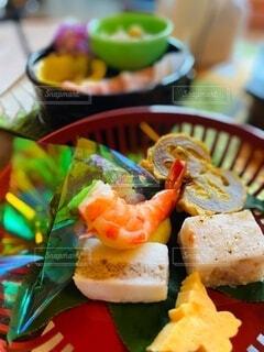 旅館のお食事の写真・画像素材[3846695]