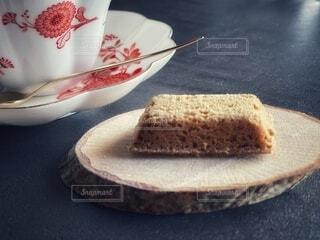 紅茶とクッキーの写真・画像素材[3852579]