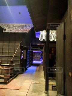 江戸の路地の写真・画像素材[758544]