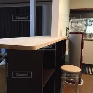 DIY,工作,手作り,カウンター,カラーボックス,カウンターテーブル