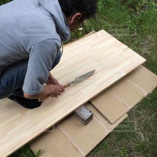 DIY,工作,手作り,木材,カウンターテーブル
