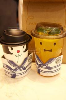 近くにコーヒー カップのアップ - No.868230