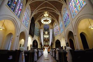ステンドグラスの素敵な教会 - No.818349