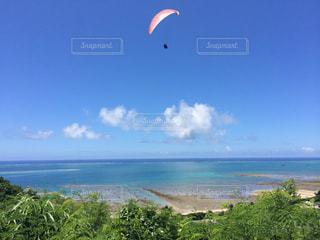 水体の凧の飛行の人々 のグループの写真・画像素材[915140]