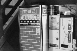 昔の自販機の写真・画像素材[722554]