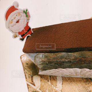 冬,ケーキ,クリスマス,チョコ,サンタさん