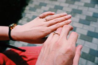 指輪の写真・画像素材[1584853]