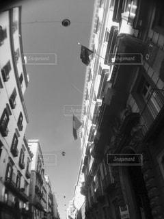 街の通りのビューの写真・画像素材[824404]