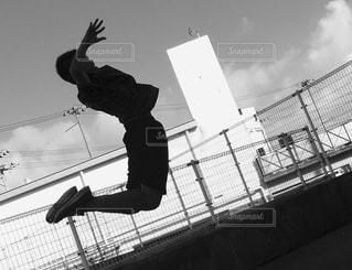 ジャンプ練習の写真・画像素材[821258]