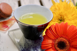 お茶でリラックス⑦の写真・画像素材[1058661]