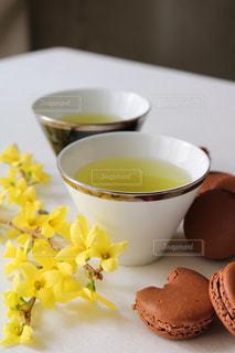 お茶でリラックス⑨の写真・画像素材[1058666]