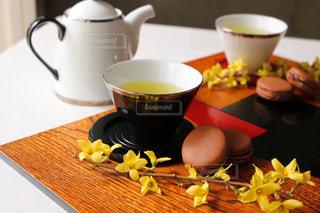 お茶でリラックス⑫の写真・画像素材[1058668]