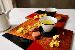 お茶でリラックス⑬の写真・画像素材[1058670]