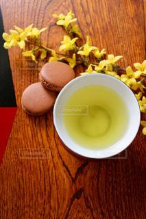 お茶でリラックス⑭の写真・画像素材[1058671]
