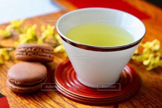 お茶でリラックス⑮の写真・画像素材[1058672]