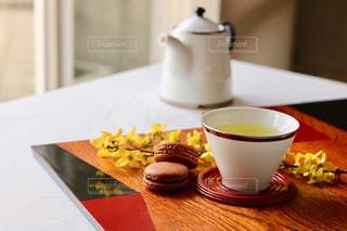 お茶でリラックス⑯の写真・画像素材[1058675]