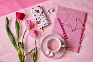 ピンクの雑貨の写真・画像素材[1434831]