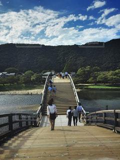 橋の向こうにの写真・画像素材[1614480]