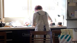 台所のお掃除の写真・画像素材[789771]