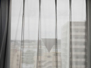 ガラスのシャワードアの写真・画像素材[3327183]
