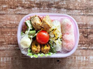 食品のプラスチック容器の写真・画像素材[3641468]
