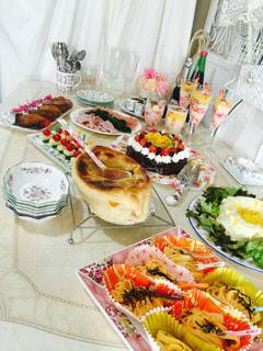 冬,ケーキ,ファミリー,クリスマス,手作り,パーティー,ハッピー,ホームパーティ