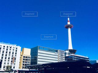都市の大規模なタワーの写真・画像素材[1038519]