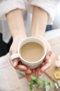 一杯のコーヒーの写真・画像素材[1266755]