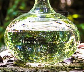 クローズ ボトル、ワインのガラスのの写真・画像素材[1282641]