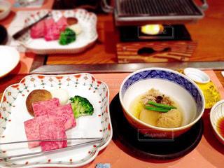 下呂温泉での夕食の写真・画像素材[756553]