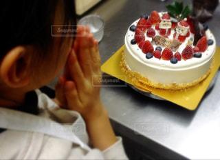 クリスマスケーキが完成 - No.802619