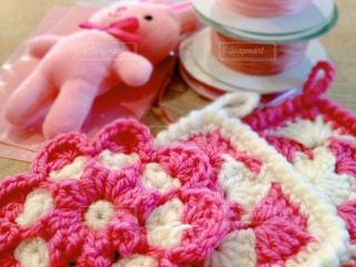 ピンクの小物の写真・画像素材[843134]