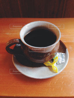 コーヒーと和菓子の写真・画像素材[938493]