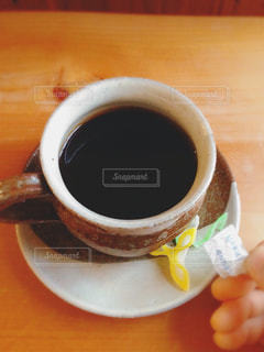 コーヒーと和菓子の写真・画像素材[938505]