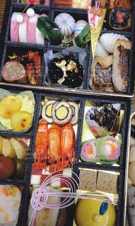 食べ物,冬,カラフル,おせち,お正月,縁起物,新年,ごちそう,彩り,お節料理,お重箱