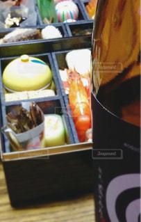 食べ物,日本酒,お酒,おせち,お正月,縁起物,新年,ごちそう,お節料理,お重,年明け