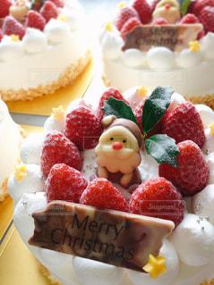 スイーツ,冬,ケーキ,いちご,星,洋菓子,クリスマス,お菓子,サンタ,クリスマスケーキ,ヒイラギ,merryChristmas