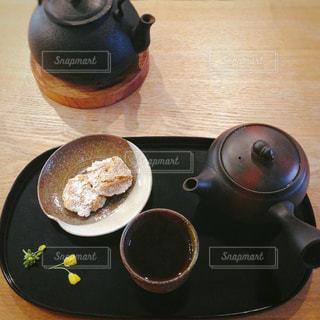 お茶とお菓子 - No.1057836