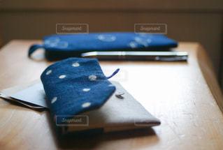 カードケースとペンケースの写真・画像素材[1119705]