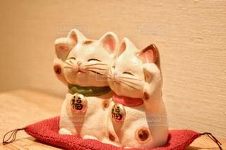 招き猫の写真・画像素材[1119706]