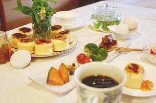 休日の朝食の写真・画像素材[1187348]