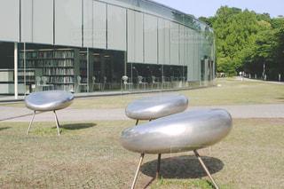 金沢21世紀美術館とドロップの写真・画像素材[1206951]