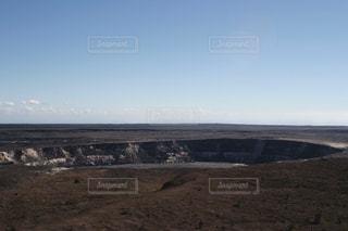 キラウエア火山のハレマウアウ火口(噴火前)の写真・画像素材[1217935]