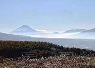 車山高原から見た富士山の写真・画像素材[1217947]