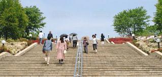 階段を上り下りする人々 - No.1222484