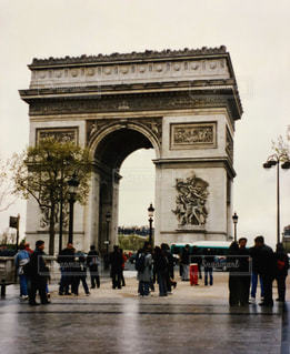 凱旋門の写真・画像素材[1235376]